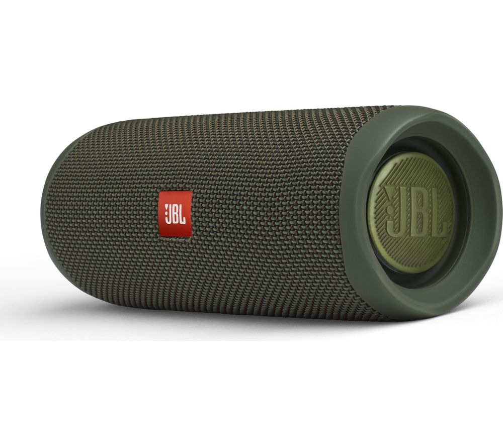 Flip 5 Portable Bluetooth Speaker - Green, Green