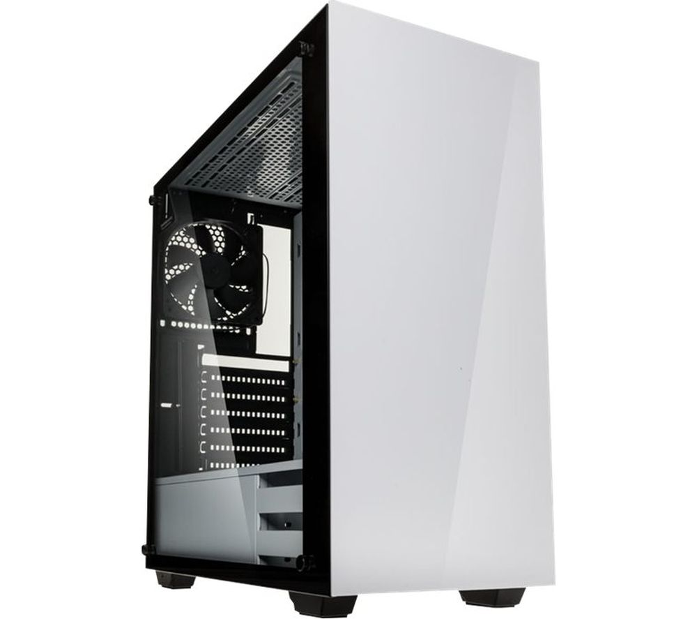 Image of KOLINK Stronghold E-ATX Mid Tower PC Case - White, White