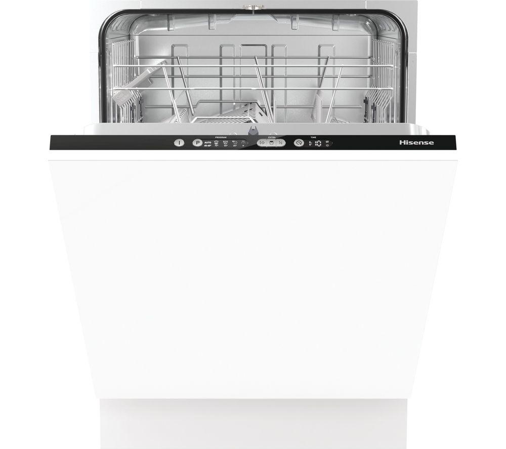 HISENSE HV6120UK Full-size Fully Integrated Dishwasher