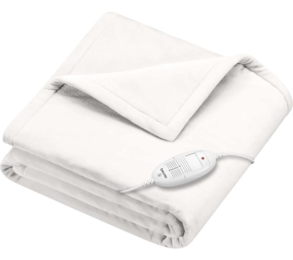 BEURER Cosy HD 75 Heating Blanket - White