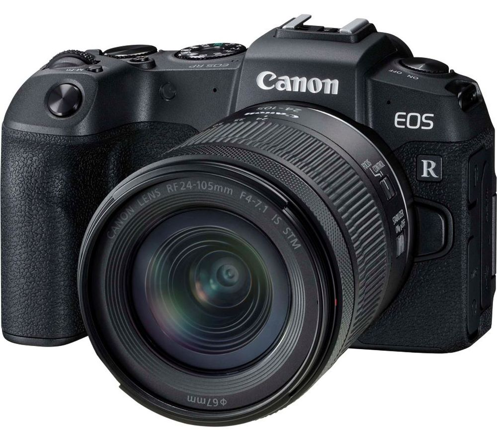 Canon Eos Rp Mirrorless Camera With Rf 24 105 Mm F 4 71 Is Stm Lens