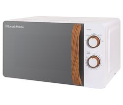 RUSSELL HOBBS Scandi RHMM713 Compact Solo Microwave - White