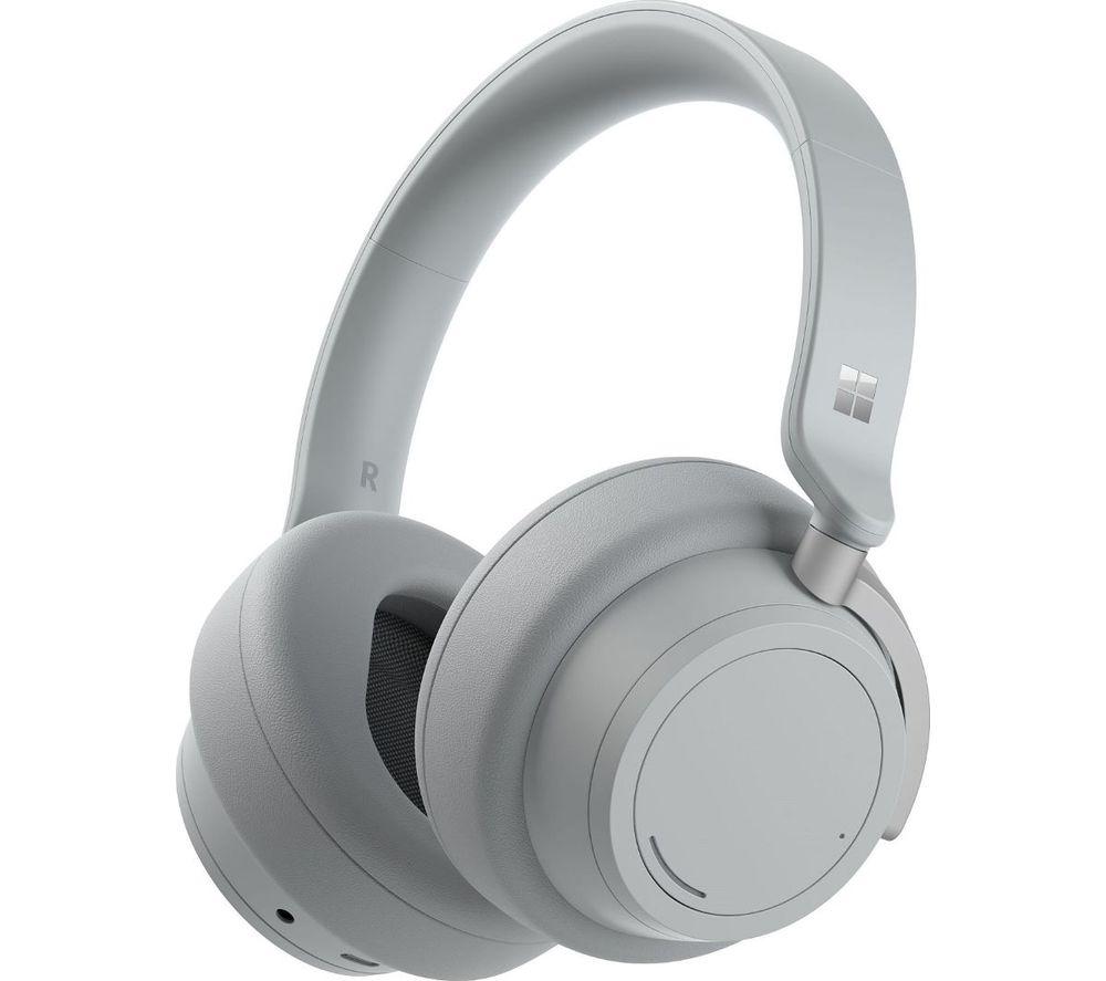 MICROSOFT Surface Wireless Bluetooth Noise-Cancelling Headphones 2 - Light Grey