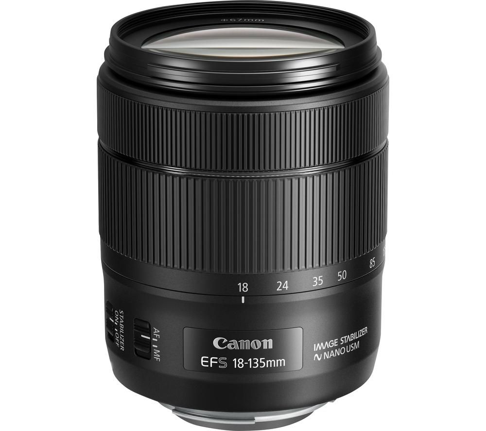 CANON EF-S 18-135 mm f/3.5-5.6 IS USM Standard Zoom Lens