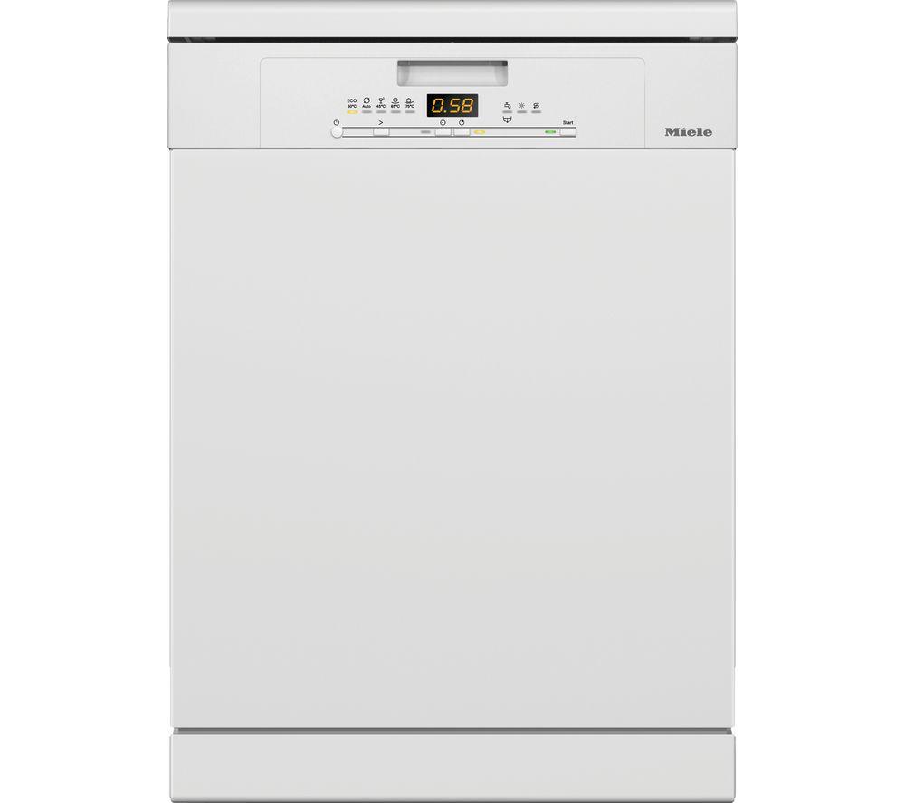 MIELE G5210SC Full-size Dishwasher – White, White