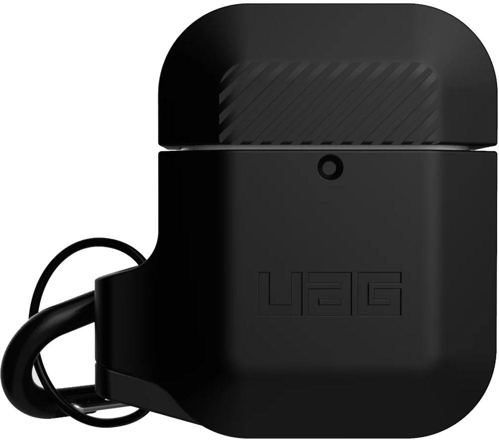 URBAN ARMOR GEAR Apple AirPods Rugged Case - Black, Black