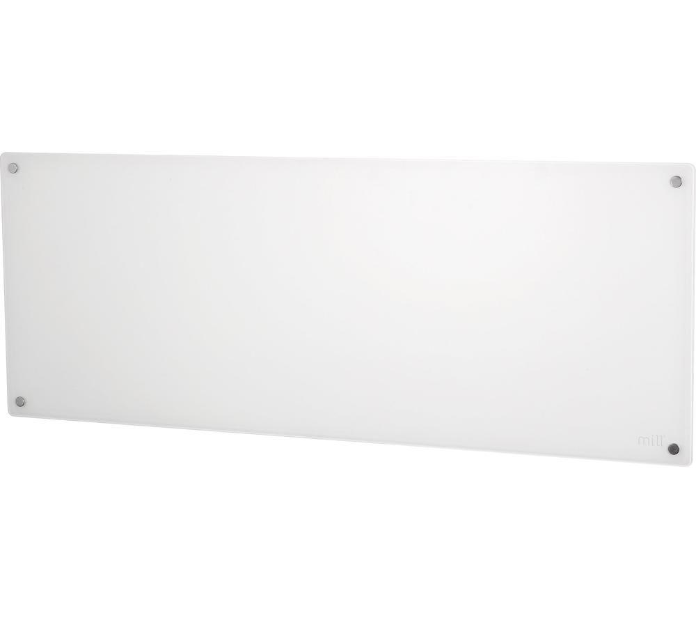 MILL WiFi AV1200WIFI Smart Glass Panel Heater - White