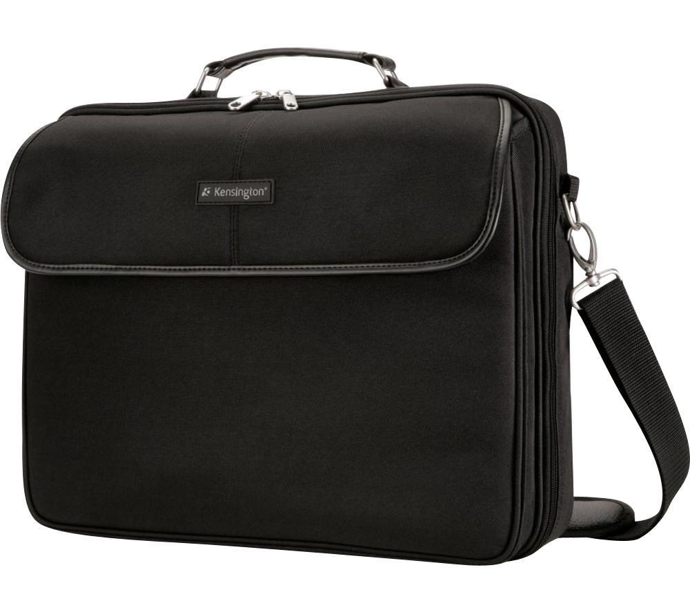 """KENSINGTON SP30 Clamshell Case 15.6"""" Laptop Case - Black"""