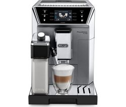 DELONGHI Prima Donna Class ECAM550.75.MS Smart Bean to Cup Coffee Machine - Silver Best Price, Cheapest Prices