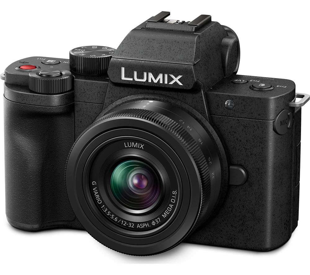 Panasonic Lumix Dc G100 Mirrorless Camera With G Vario 12 32 Mm F 35 56 Asph Mega Ois Lens