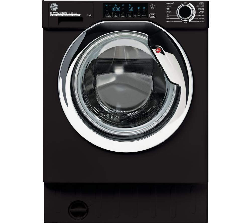 HOOVER H-WASH 300 Pro HBWOS 69TAMCBET Integrated WiFi-enabled 9 kg 1600 Spin Washing Machine - Black