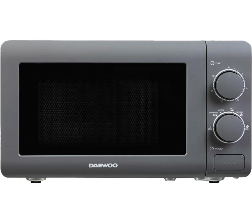 DAEWOO SDA1961 Solo Microwave - Grey, Grey