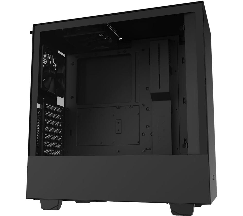 Image of NZXT H510i ATX Mid-Tower PC Case - Black, Black