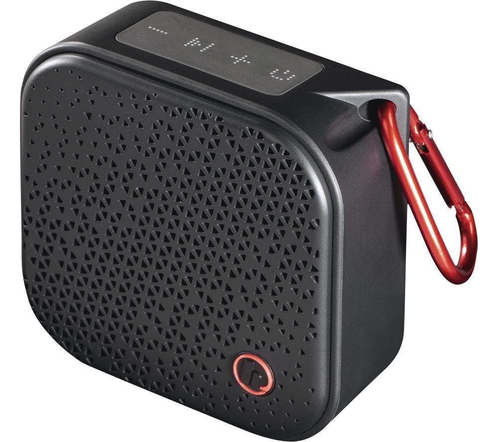 HAMA Pocket 2.0 Portable Bluetooth Speaker - Black, Black