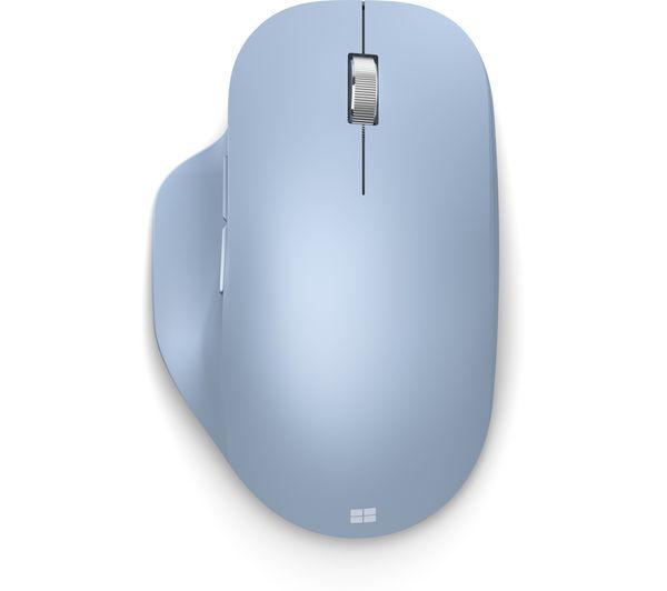 Image of MICROSOFT Ergonomic Bluetooth Wireless BlueTrack Mouse - Blue