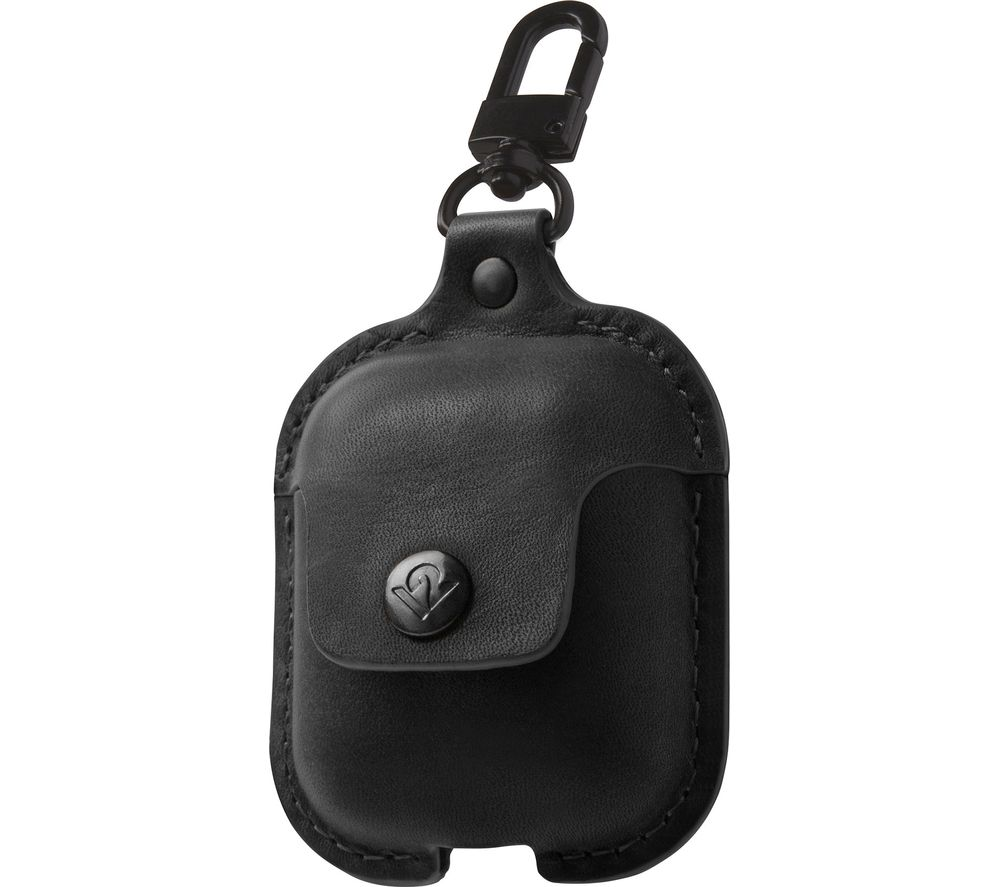 TWELVE SOUTH AirSnap AirPod Leather Case Cover - Black