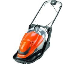Easi Glide Plus 300V Corded Hover Lawn Mower - Orange & Grey