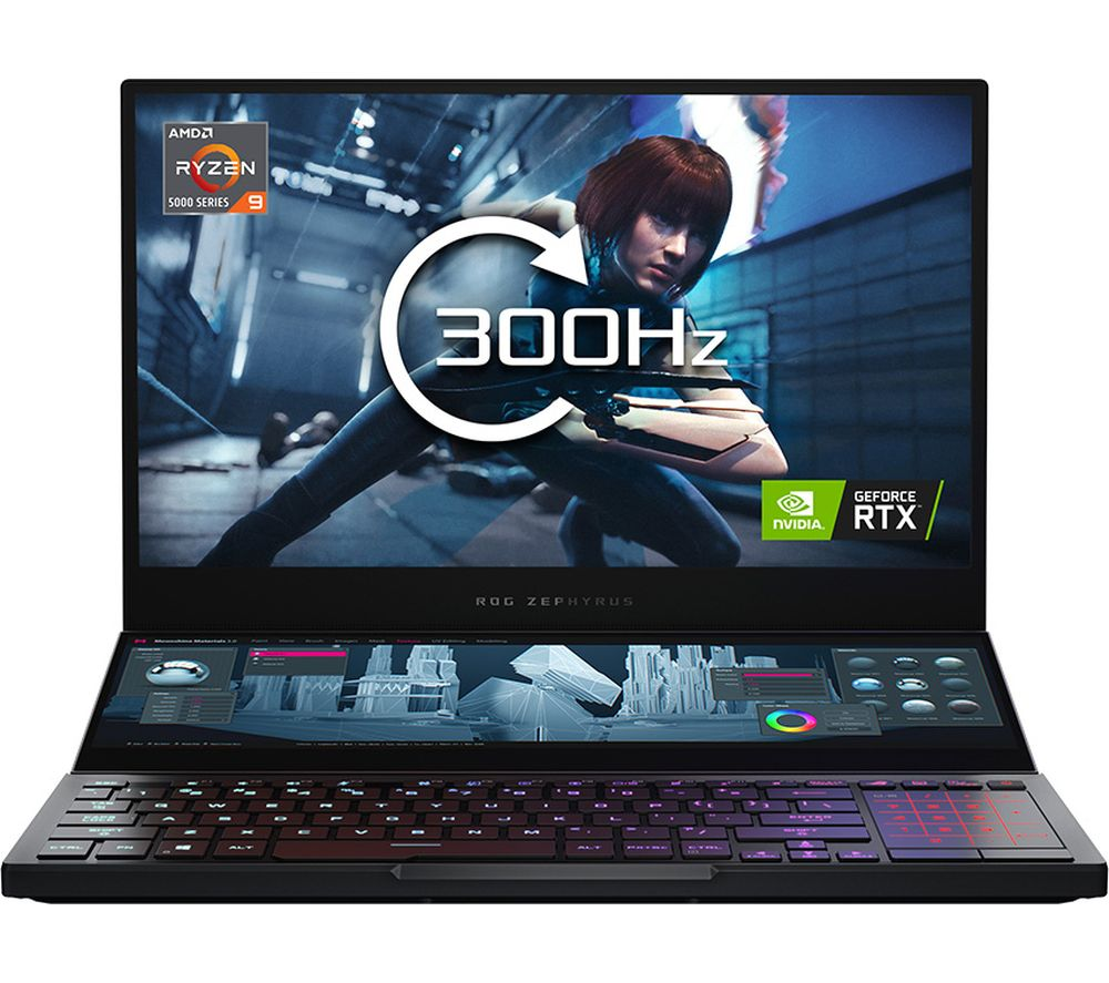 "ASUS ROG Zephyrus Duo 15 SE 15.6"" Gaming Laptop - AMD Ryzen 9, RTX 3080, 2 TB SSD"