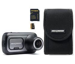 NEXTBASE 422GW Quad HD Dash Cam & Go Pack with 32 GB U3 microSD Card Bundle