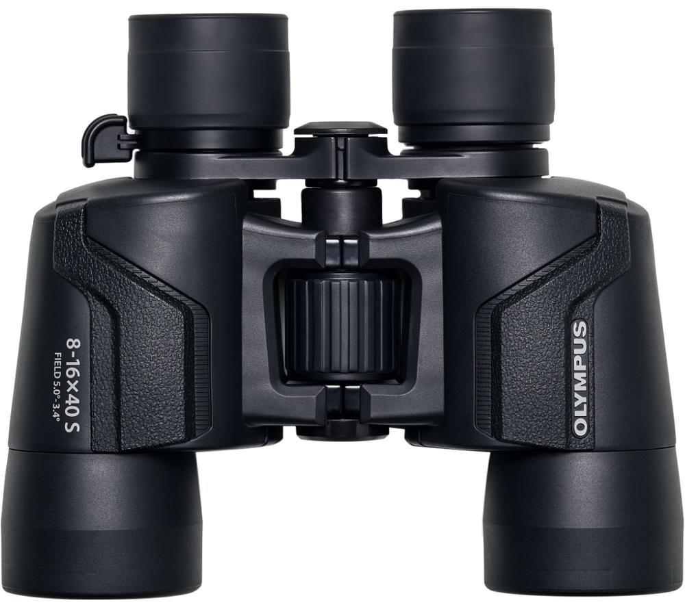 OLYMPUS 8-16 x 40 mm S Binoculars - Black