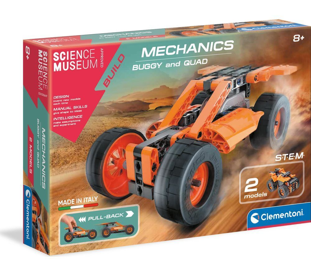 SCIENCE MUSEUM Buggy Quad Pullback Toy Car Kit