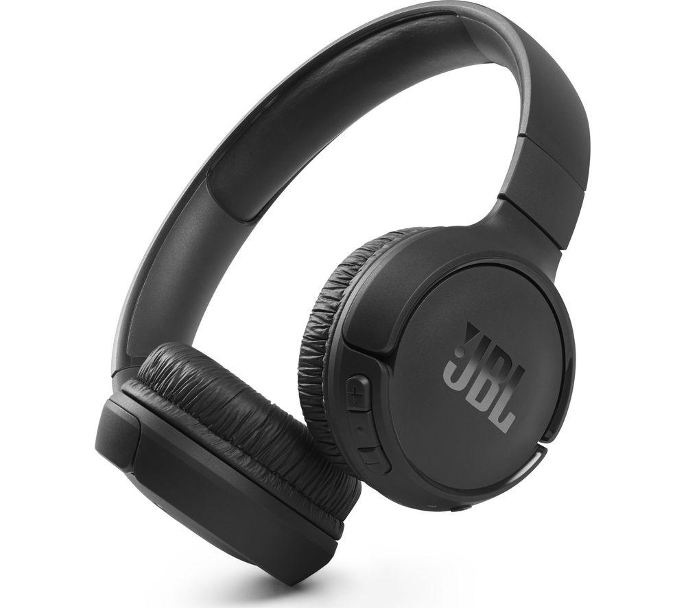 JBL Tune 510BT Wireless Bluetooth Headphones - Black