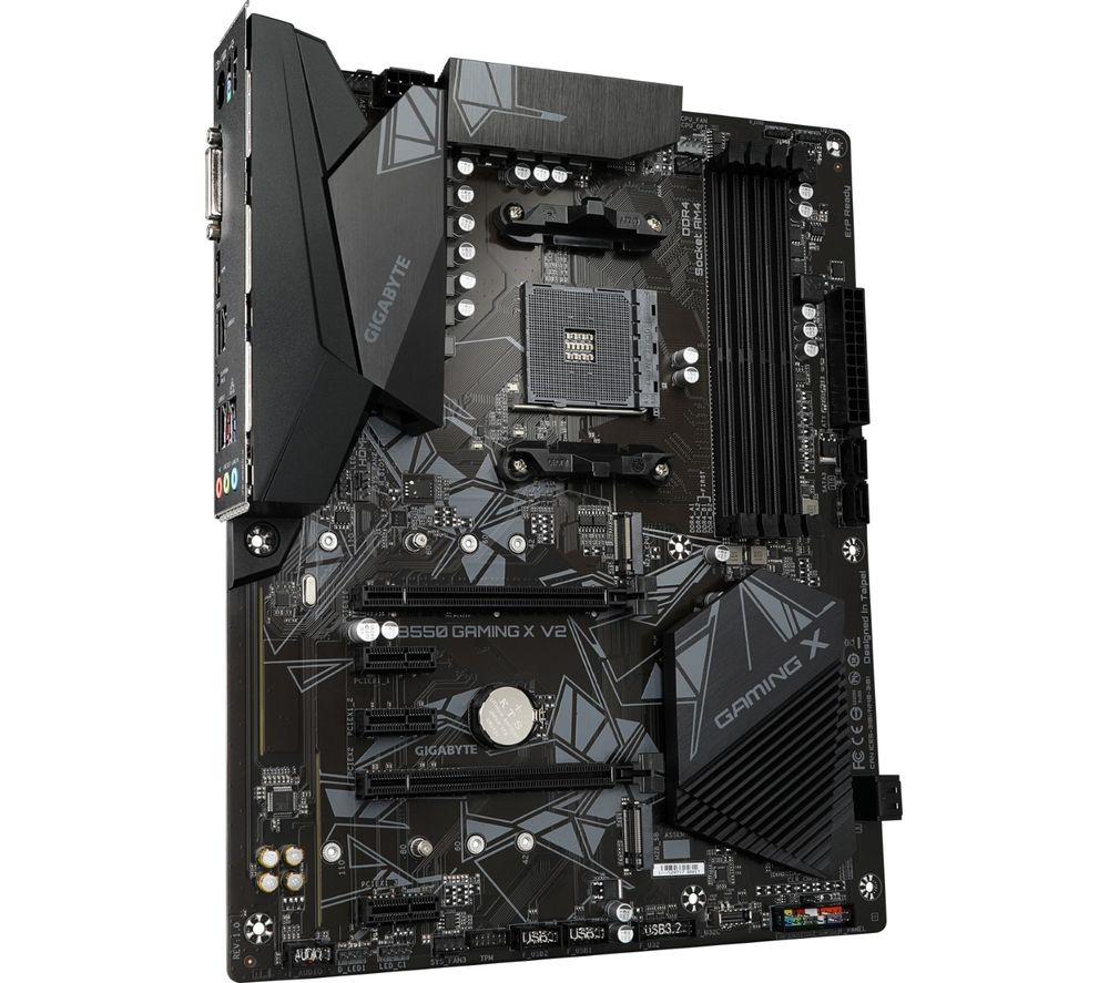 Image of Gigabyte B550 AORUS ELITE AX V2 motherboard AMD B550 Socket AM4 ATX