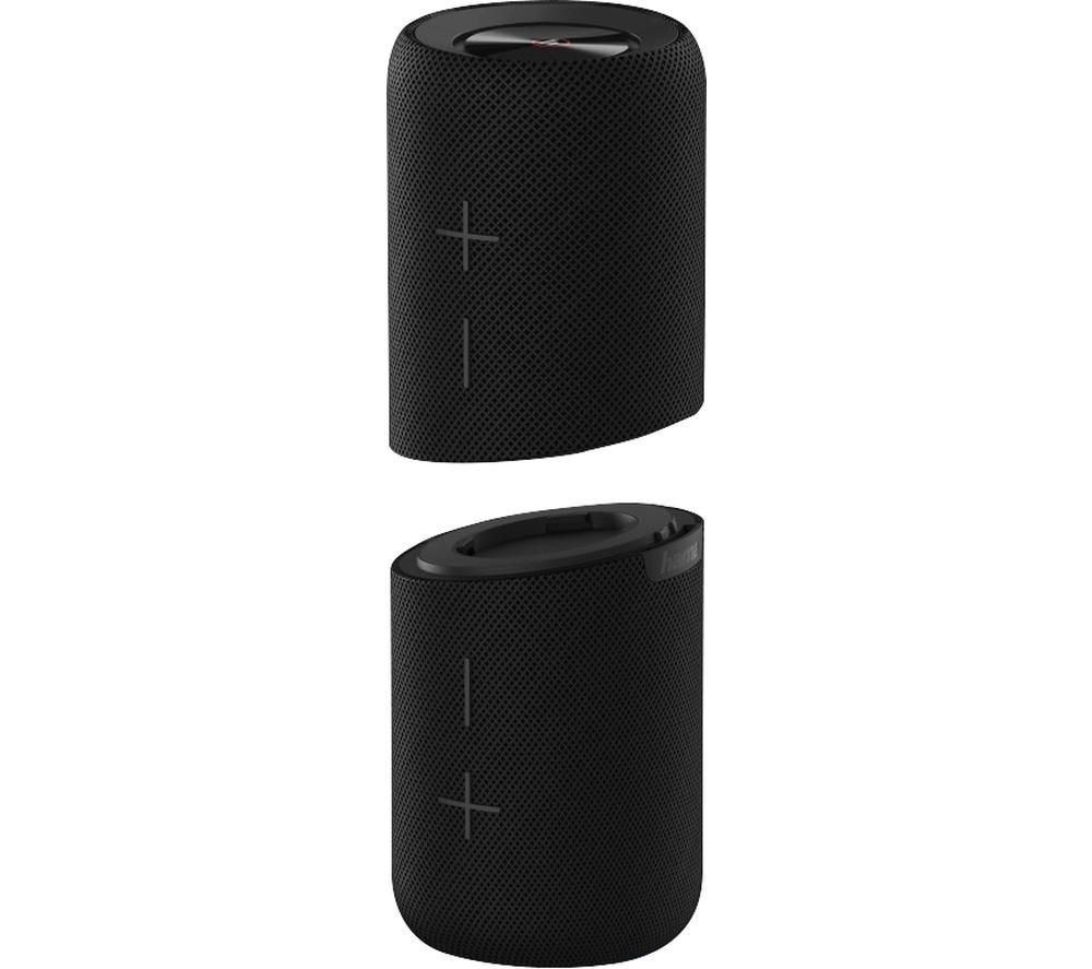 HAMA Twin 2.0 Portable Bluetooth Speaker - Black
