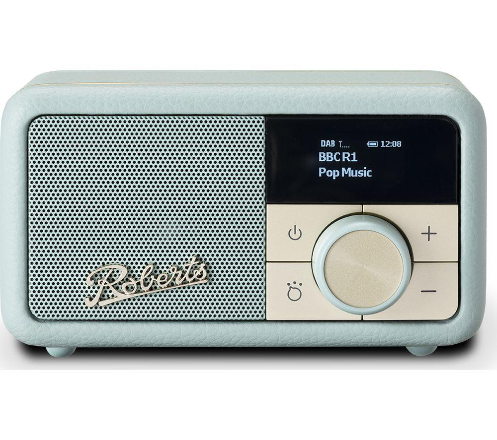 ROBERTS Revival Petite DAB+/FM Retro Bluetooth Radio - Duck Egg