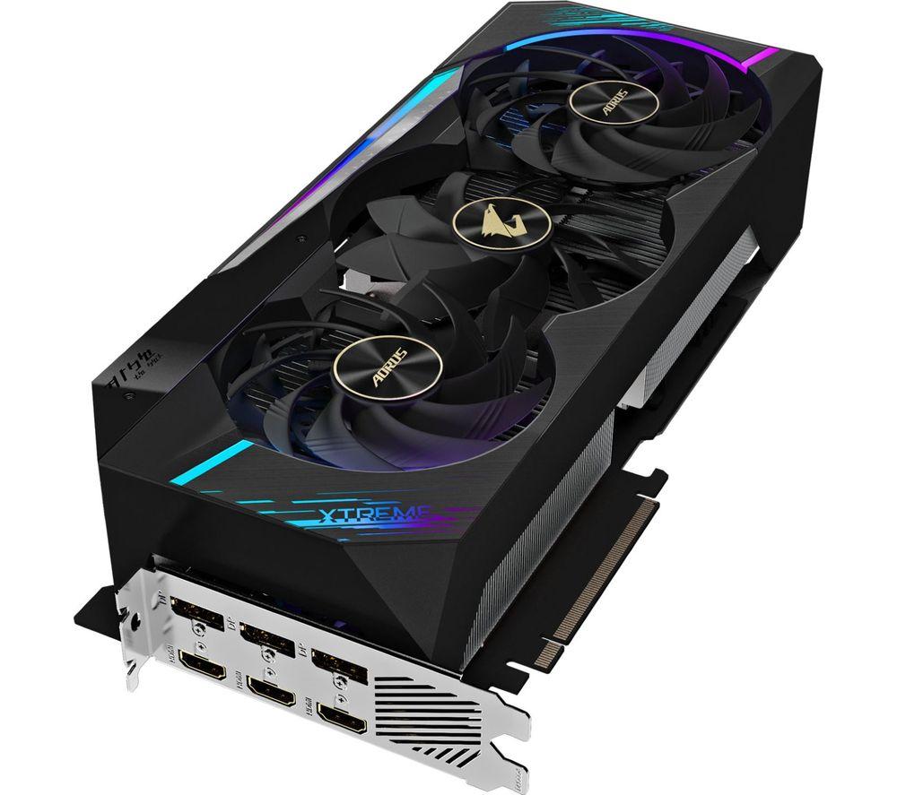 GIGABYTE GeForce RTX 3080 10 GB AORUS XTREME V2 LHR Graphics Card