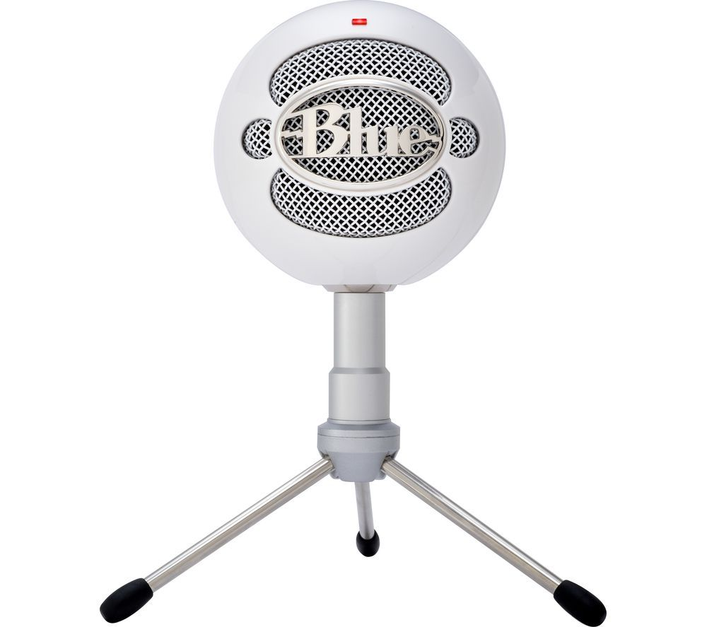Image of BLUE Snowball Ice Microphone - White, Blue