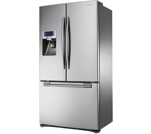 buy samsung rfg23uers american style fridge freezer real stainless free delivery currys. Black Bedroom Furniture Sets. Home Design Ideas