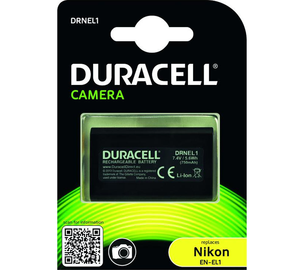 Compare retail prices of Duracell DRNEL1 Lithium-ion Rechargeable Camera Battery to get the best deal online