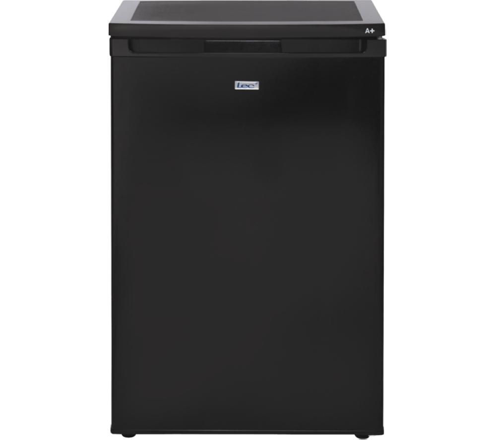 LEC L5511B Undercounter Fridge - Black