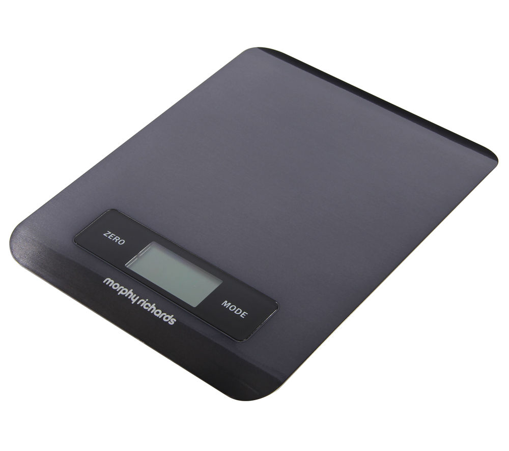 MORPHY RICHARDS Accents Digital Kitchen Scales - Black