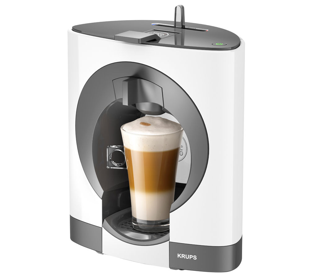 KRUPS Dolce Gusto Oblo KP110140 Hot Drinks Machine - White, White