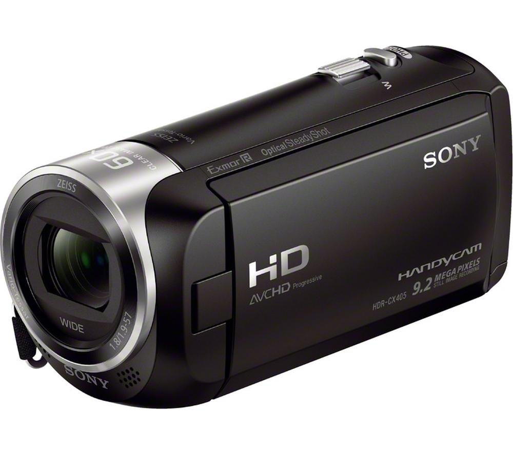SONY Handycam HDR-CX405 Full HD Camcorder - Black + Ultra Performance Class 10 microSD Memory Card - 32 GB + Adventura SH110 ll Camcorder Case - Black