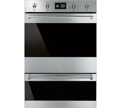 Classic DOSP6390X Electric Double Oven - Black & Stainless Steel