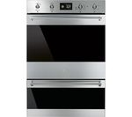 SMEG Classic DOSP6390X Electric Double Oven - Black & Stainless Steel