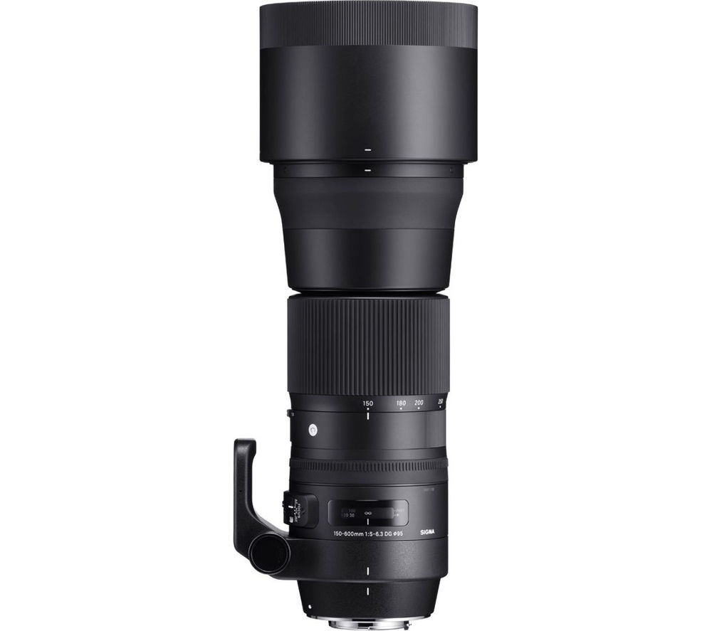SIGMA 150-600 mm f/5-6.3 DG OS HSM C Telephoto Zoom Lens - for Canon