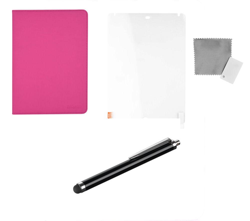 "IWANTIT IA3SKPK16 9.7"" iPad Starter Kit - Pink"