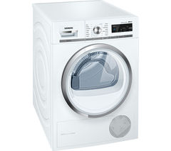 SIEMENS iQ500 WT47W590GB Condenser Tumble Dryer - White