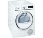 SIEMENS iQ500 WT47W590GB Condenser Tumble Dryer - White