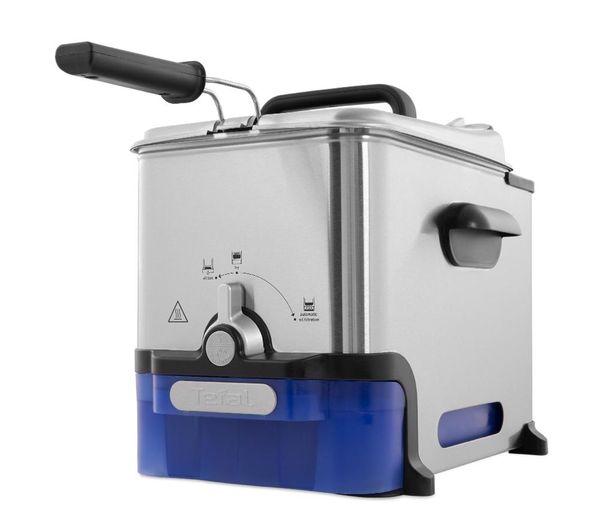 Tefal Oleoclean Pro Fr804040 Deep Fryer Stainless Steel