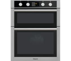 HOTPOINT Class 4 DU4841JCIX Electric Double Oven - Stainless Steel