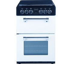 STOVES Richmond 550DFW Dual Fuel Cooker - White
