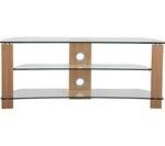 TTAP Vision Curve 1400 TV Stand - Oak