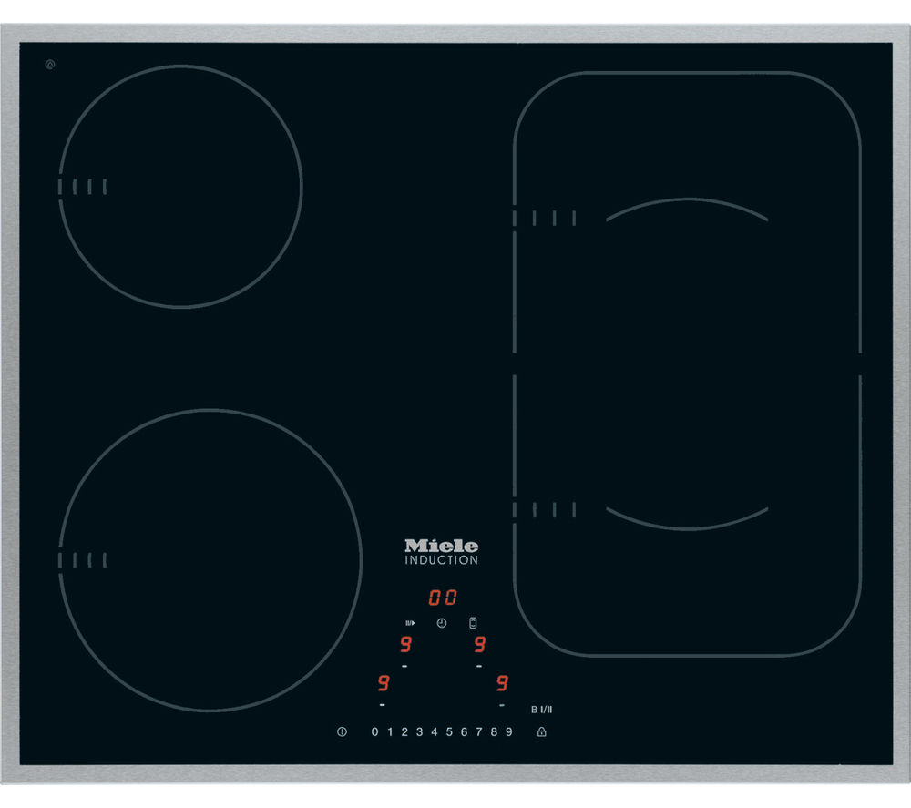 MIELE KM6322 Electric Induction Hob - Black