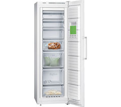 SIEMENS GS36NVW30G Tall Freezer - White