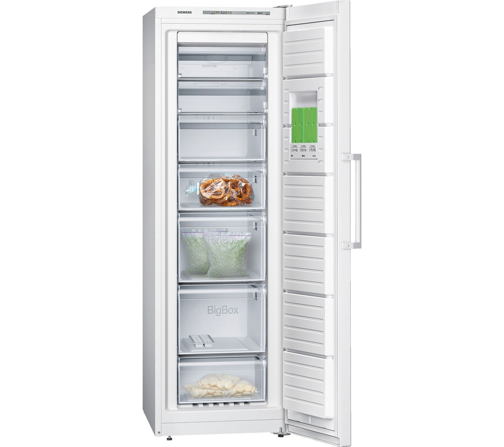 Image of SIEMENS GS36NVW30G Tall Freezer - White, White